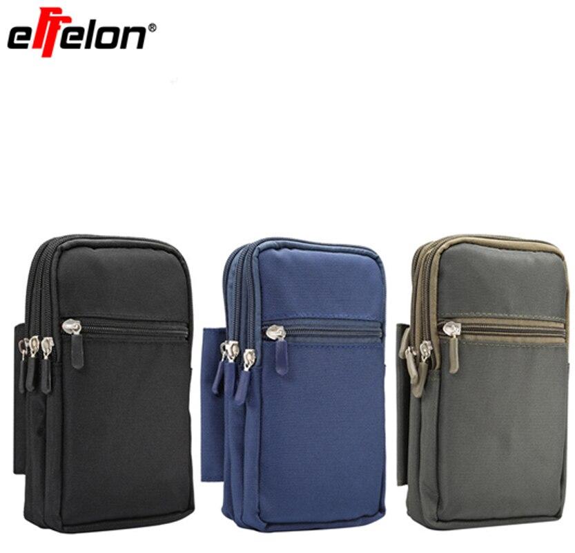 Nueva funda con Clip para cinturón, cartera deportiva, bolsa para teléfono móvil 8 7 para IPhone 6 Plus/5S, riñonera para exteriores para Samsung Galaxy S8 plus