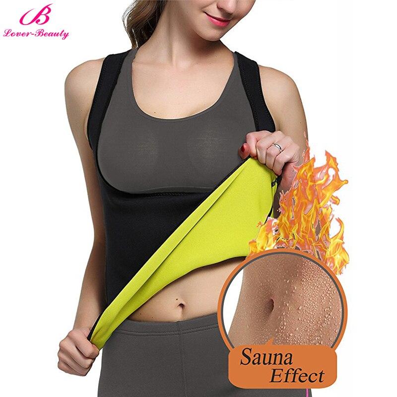 Lover-Beauty neopreno Sauna cintura entrenador chaleco corsé para peso traje para perder el cuerpo Shaper adelgazamiento chaleco para las mujeres