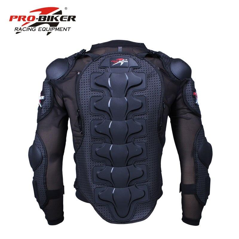 Pro-motero, armadura protectora para motocicleta, chaqueta de cuerpo completo, armadura, tela, caparazón de tortuga para Motocross, protección, chaquetas para motocicleta