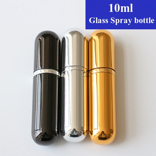 Petits flacons rechargeables en verre, 10ml, 5/10/15/20 pièces, petits flacons vaporisateur, haute qualité, tendance, atomiseur pour Parfum