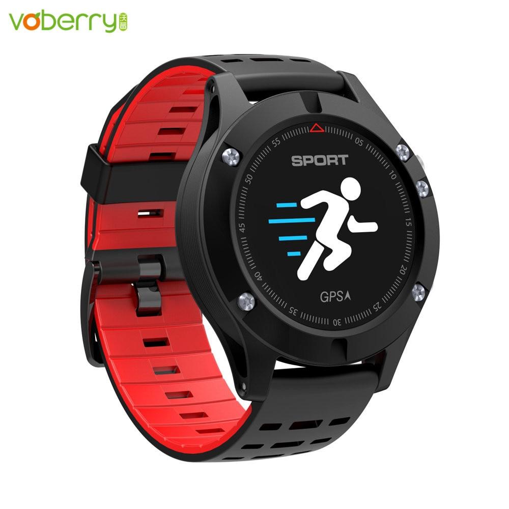 VOBERRY F5 pulsera inteligente Monitor de ritmo cardíaco LED Color pantalla podómetro deportes al aire libre Fitness Tracker reloj
