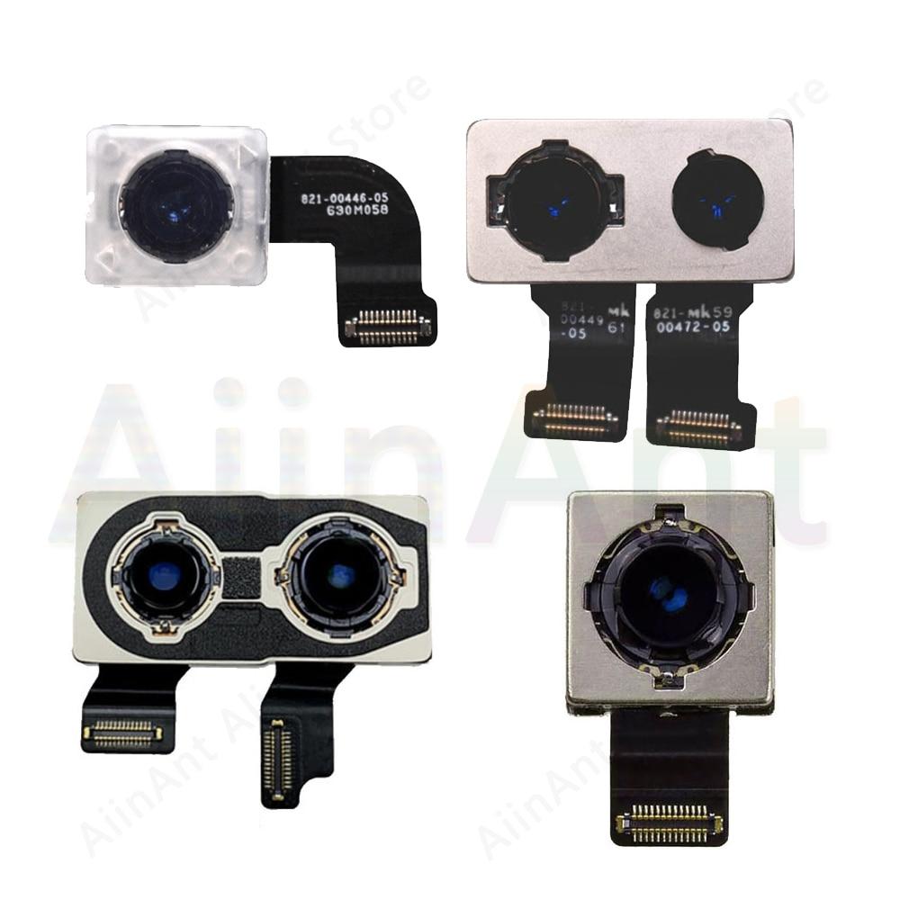Original Real Cámara Flex para iPhone 7 8 Plus a la cámara principal Flex Cable para iPhone X Xs X Max XR de recambio para