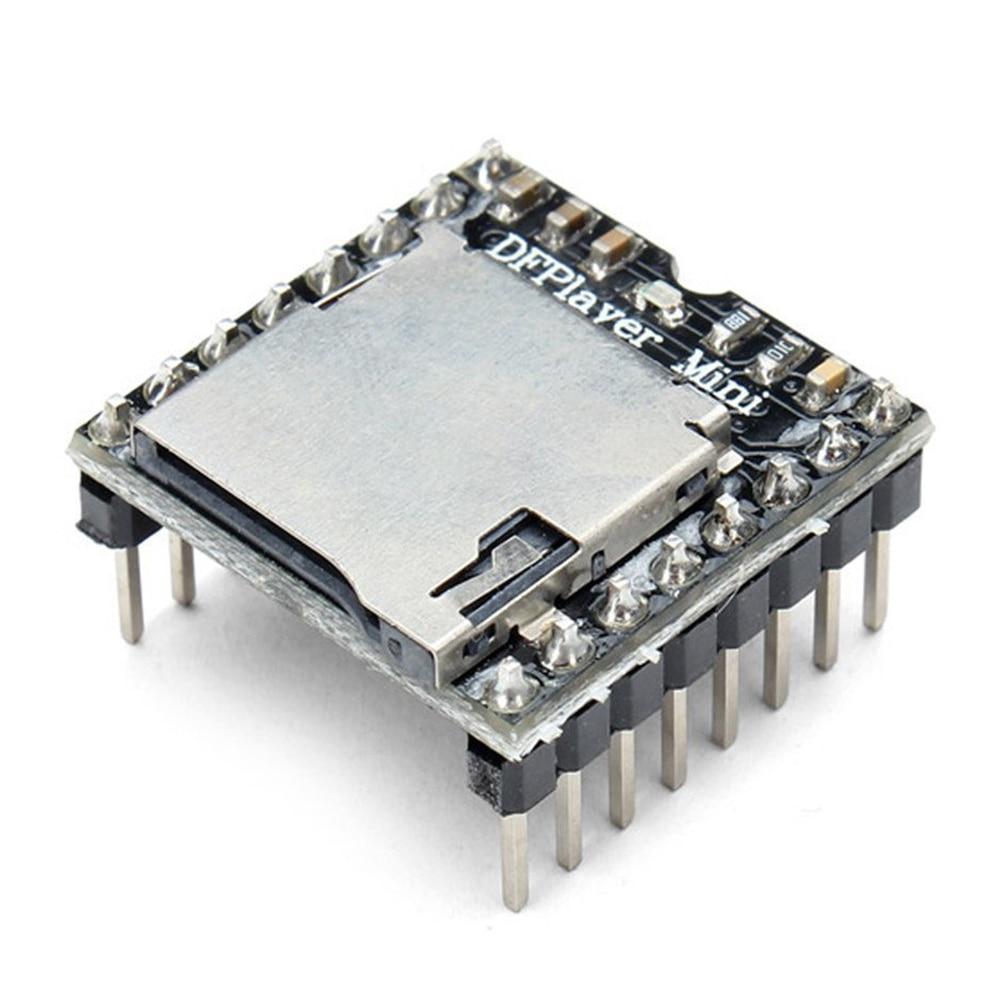 SCLS DFPlayer Mini reproductor MP3 módulo negro
