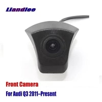 liandlee auto car front view camera for audi q3 2011 present 2012 2013 2014 2015 not reverse rear parking cam