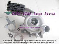 GTB1749VK 778400 778400-0003 AX2Q6K682CB AX2Q6K682CA Turbo For Jaguar XF Lion V6 For Land Rover Discovery IV 09- TDV6 306DT 3.0L