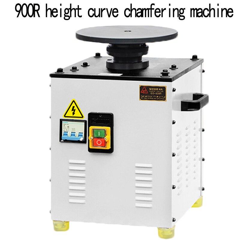 Machine de chanfreinage à grande vitesse composée à grande vitesse darc de bureau de machine de chanfreinage de courbe de GD-900R industrielle portative 380 V 1.1kw