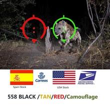 Mira holográfica táctica 558 colimador punto rojo mira óptica Reflex mira para escopeta con 20mm Rail montajes para Airsoft y Softair