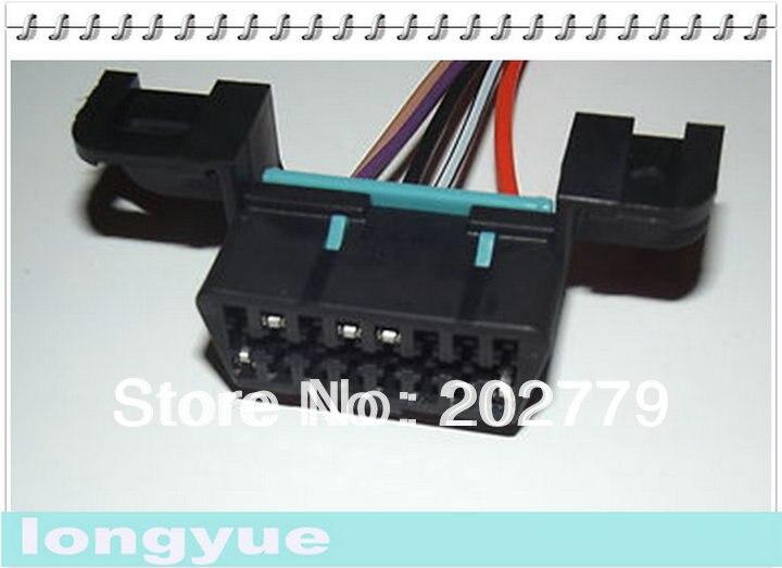 Qingdao Pegaso 10 Uds LS1 LT1 OBDII OBD2 conector de arnés de cableado flexible 96 + Camaro Corvette 15cm de alambre