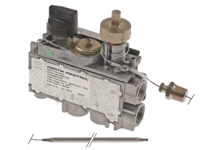 Mertik Termostato para Freidora de Gas Control Temperatura Combi Valvula 190 C
