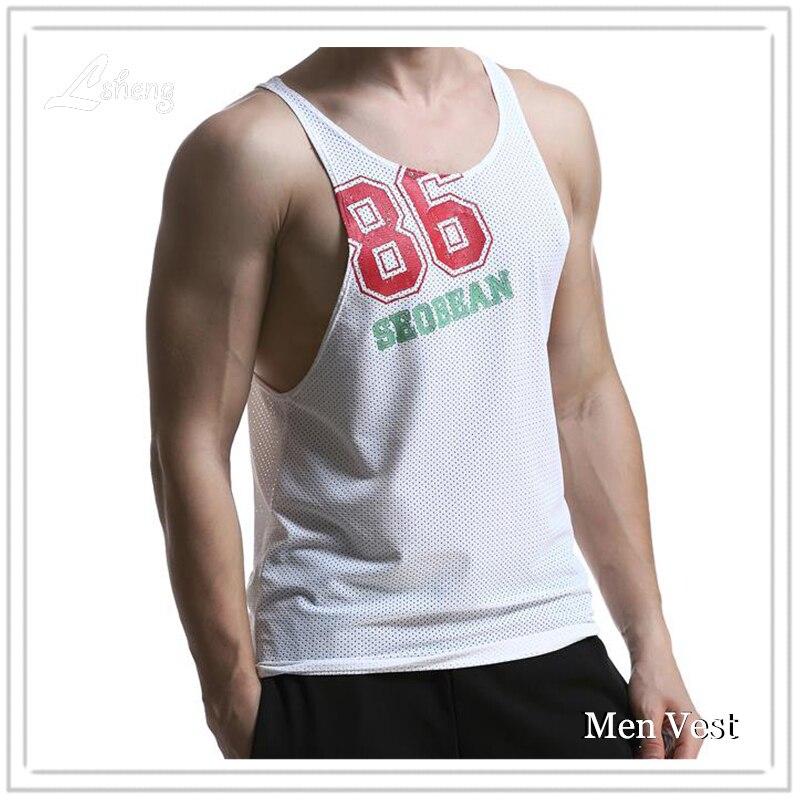 الرجال تانك الأعلى Singlets المراسلين أكمام رجل أعلى تيز قمصان القطن الهيب هوب العلامة التجارية تي شيرت رجل رجل Gasp تانك قميص العضلات