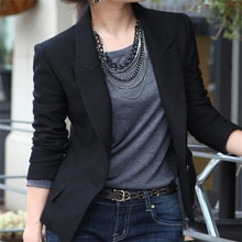 Office Lady New Plus Size Womens Business Suits Spring Autumn All-match women Blazers Jackets Short