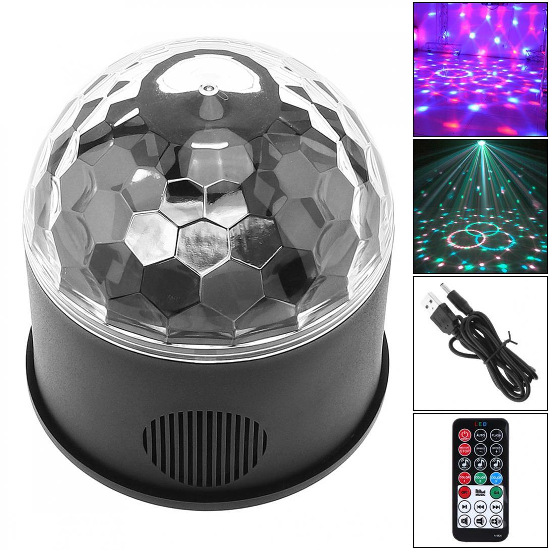 usb 5v led bola magica projetor luzes de palco strobe clube efeito luzes com controle
