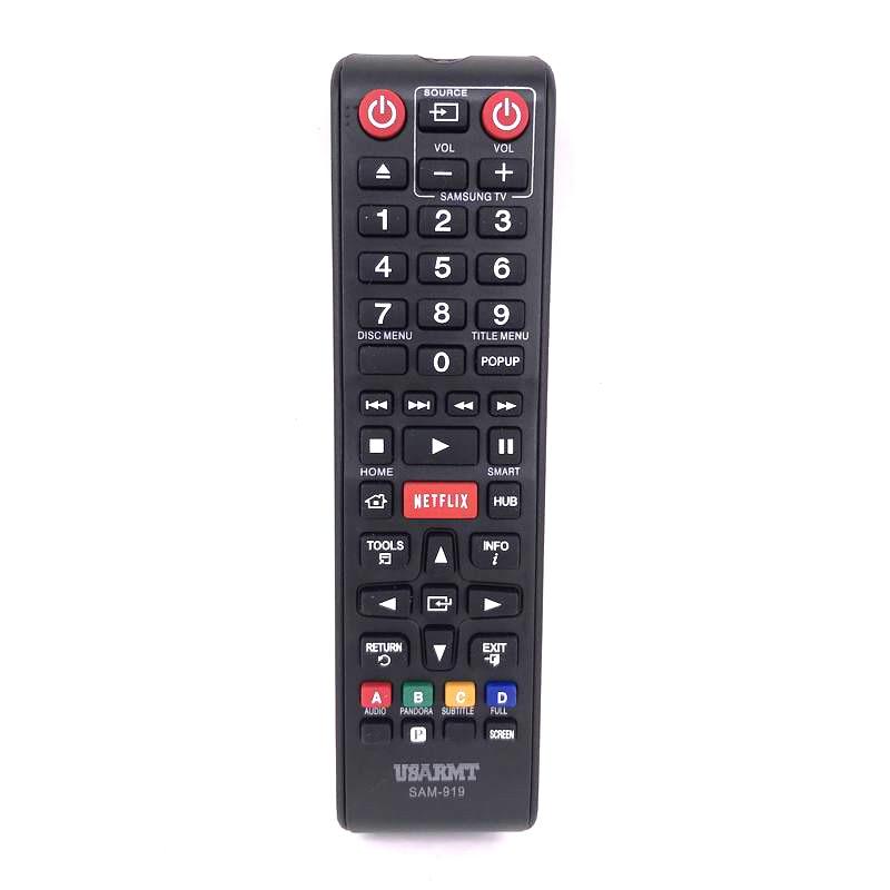 (4 шт./лот) USARMT Новый универсальный dvd-плеер Blu-Ray плеер с пультом дистанционного управления, SAM-919 для Samsung BD-C5500 BD-P1600