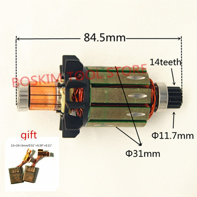 Роторный двигатель арматура 619301-1 DC18V для MAKITA DDF458Z DF458D DDF458RFE DHP458 BHP458 DDF458 BDF458 BDF458RFE BDF458Z дрель