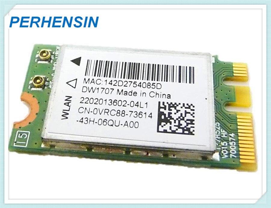 ORIGINAL para Dell DW1707 VRC88 Qualcomm Atheros QCNFA335 inalámbrico WIFI tarjeta WLAN