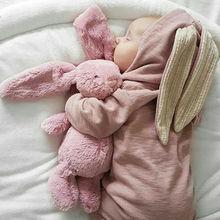 Nette Neugeborene Baby Junge Mädchen Bunny Strampler Lange Ohr Mit Kapuze Overall Kaninchen Overall Herbst Winter Baby Junge Mädchen Ostern Kostüme
