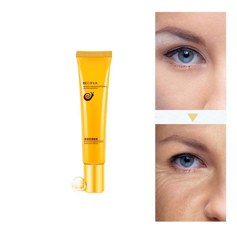 Snail Repair Canthus Wrinkles Eye Serum Anti-Puffiness Fine Lines Dark Circle Anti-Aging Moisturizing Patches Eye Cream Beauty