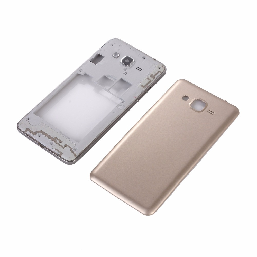 For Samsung SM-G531 G531 Housing Battery Back Cover+Middle Frame +Touch Screen Panel Glass