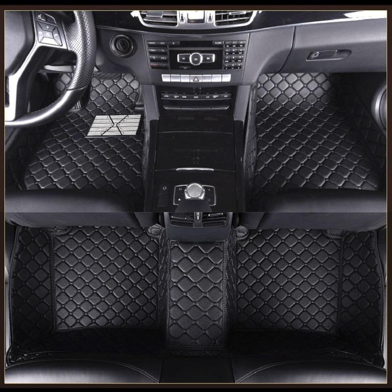 Alfombrillas personalizadas para Toyota Prius Highlander Crown Alphard Reiz Avalon Yaris L Vios Previa, alfombras
