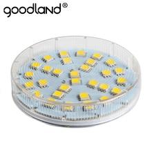 GX53 LED lampes darmoire SMD 5050 7 W Lampada lumière LED ampoule AC 220 V 230 V 240 V haute luminosité Bombillas GX53 lampe à LED