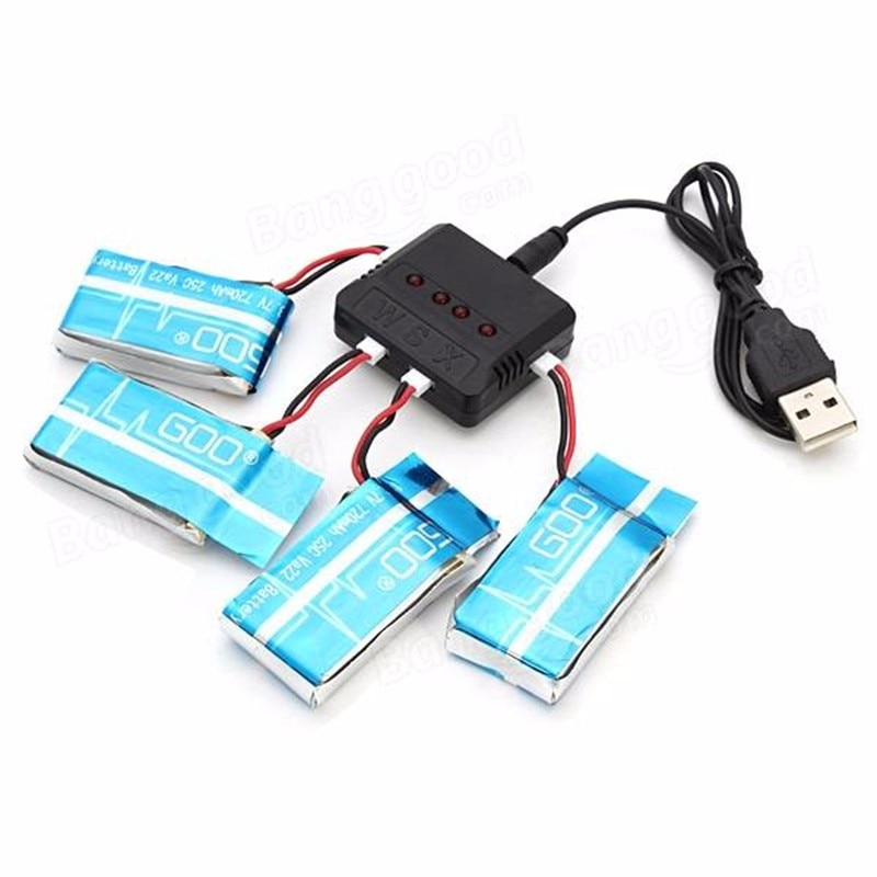 MJX X708P Battery 3.7V 720mAh Lipo Battery For MJX X708P RC Quadcopter Drone Spare Parts
