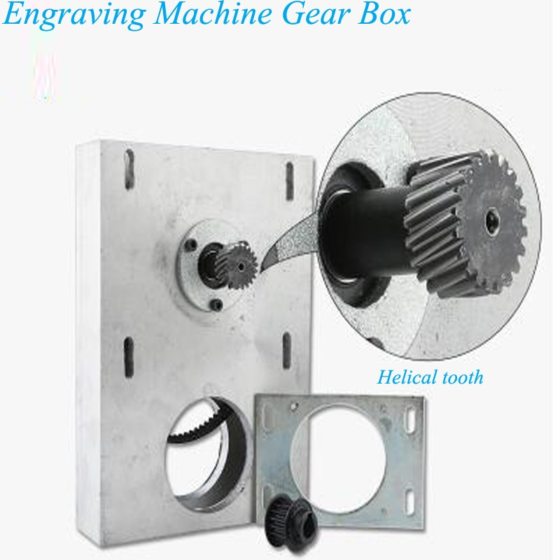 Engraving Machine Gear Box Workshop Engraving Machine Accessories Straight / Helical Toolth Engraving Machine Parts HY enlarge