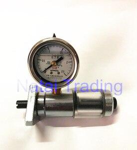 diesel VE pump piston travel tester stroke gauge with 2.5Mpa pressure meter, fuel pump internal pressure gauge repairing tool