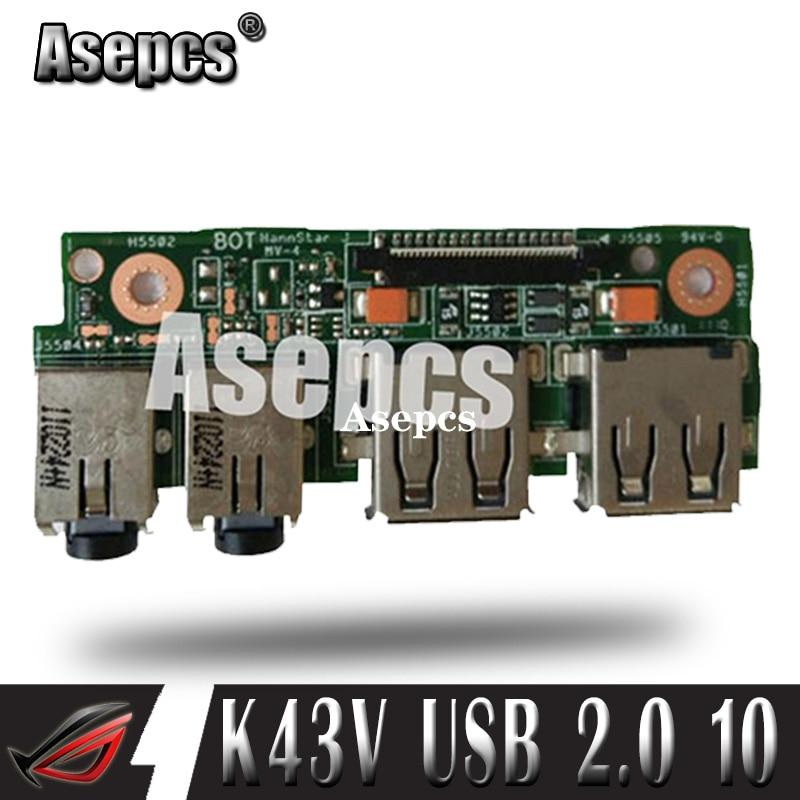 Asepcs para For Asus K43 K43SV K43SD A43S X43S K43S K43SJ P43SJ...