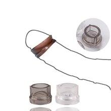 Silicone réutilisable préservatif pénis coq anneaux gland pénis bloc tête Glan préservatif jouets sexuels pour les hommes retarder léjaculation
