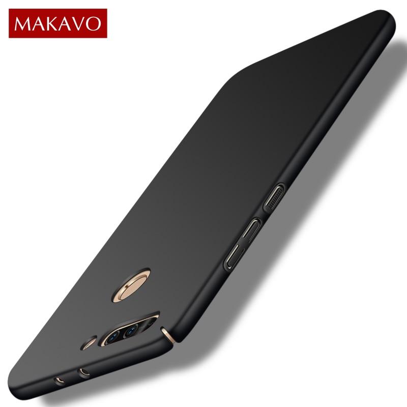 Para Huawei Honor 8 Pro funda 360 mate carcasa de plástico duro funda trasera delgada para Huawei Honor V9 Honor8 9 Lite Fundas de teléfono
