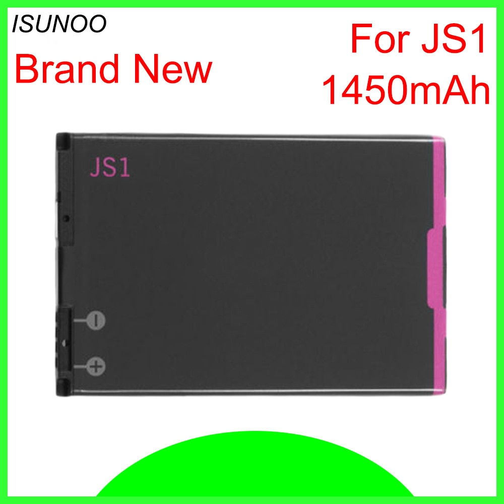 ISUNOO 1450mAh JS1 batería para Blackberry Curve 9310 curva 9315 curva 9320 Curve 9220 reemplazo de la batería