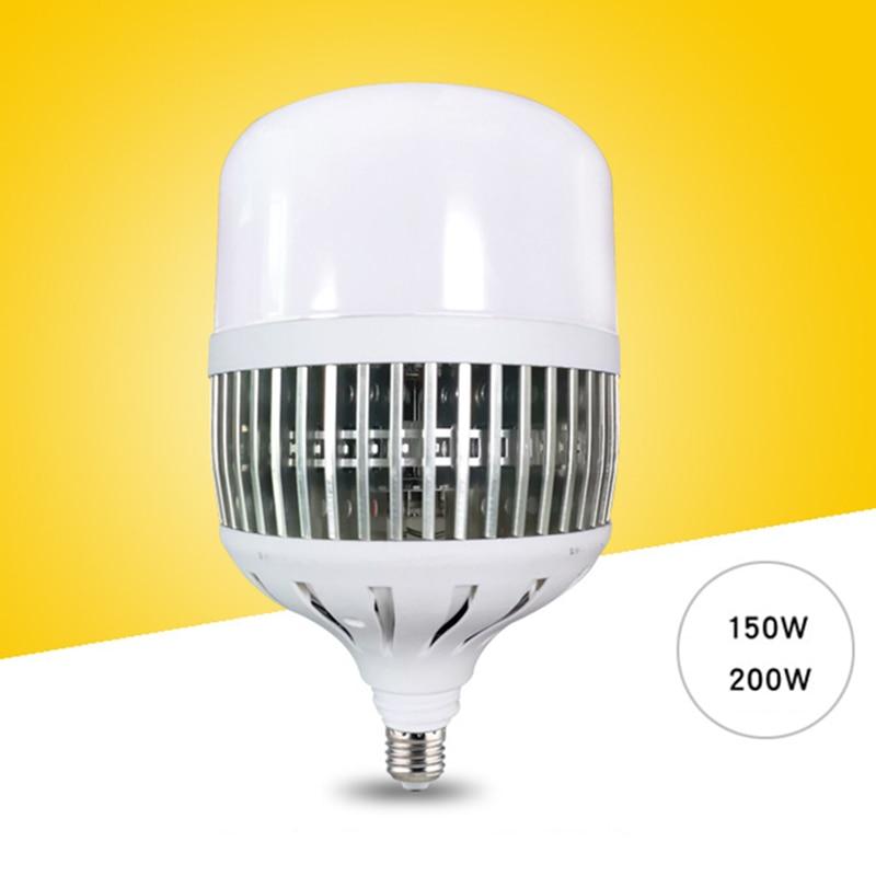 Bombilla LED de 150 W/200 W E27/E40 lámpara de taller de poder súper brillante lámparas de patio de luces interiores de fábrica -- M25
