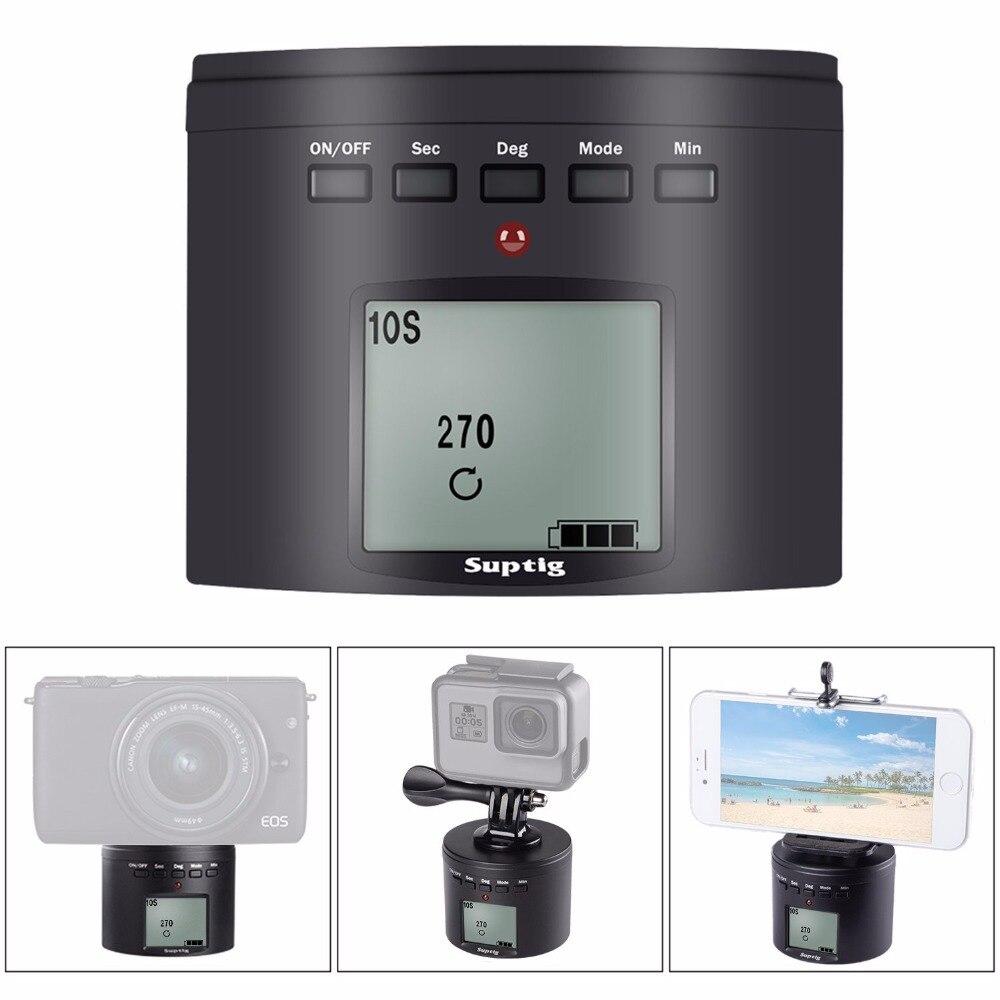 Suptig multifunción giradiscos adaptador de montaje para Gopro Hero 8 7 6 5 para iphone Samrtphone para DJI Xiaomi YI accesorios de cámara