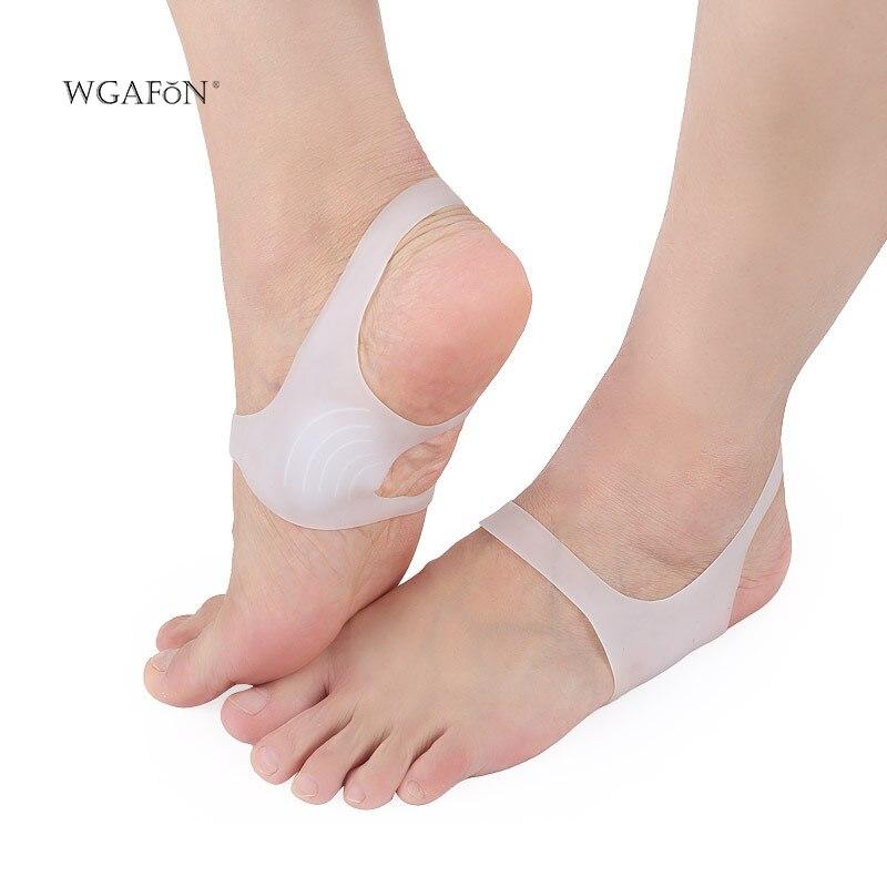 WGAFON 1 пара взрослых ног Арка pad ортопедические стельки силикагель Hallux вальгус палец ноги сепаратор O-leg ноги varus ноги вальгусные ноги