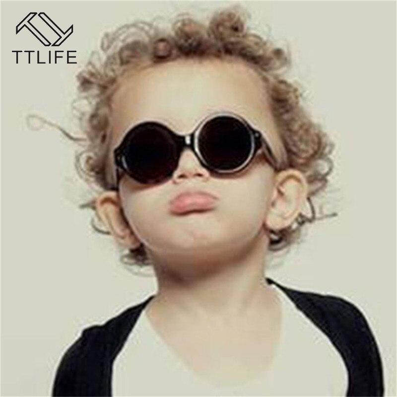 TTLIFE, Gafas De Sol Retro para niños, Gafas De Sol redondas rosadas, para niños y niñas, negro, para niño con estilo, Gafas De Sol, foto, lindas Gafas De Sol YJHH0188
