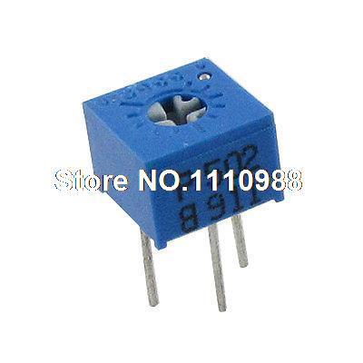 3362P 5K Ом триммер горшок потенциометры переменные резисторы 50 шт
