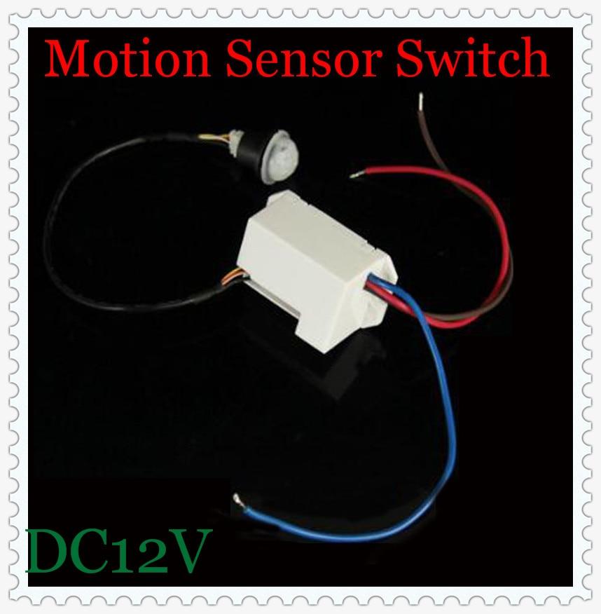 new adjustable 500W  DC12V IR Infrared Module Body Motion Sensor Intelligent Light Lamps Motion Sensing Switch CM079