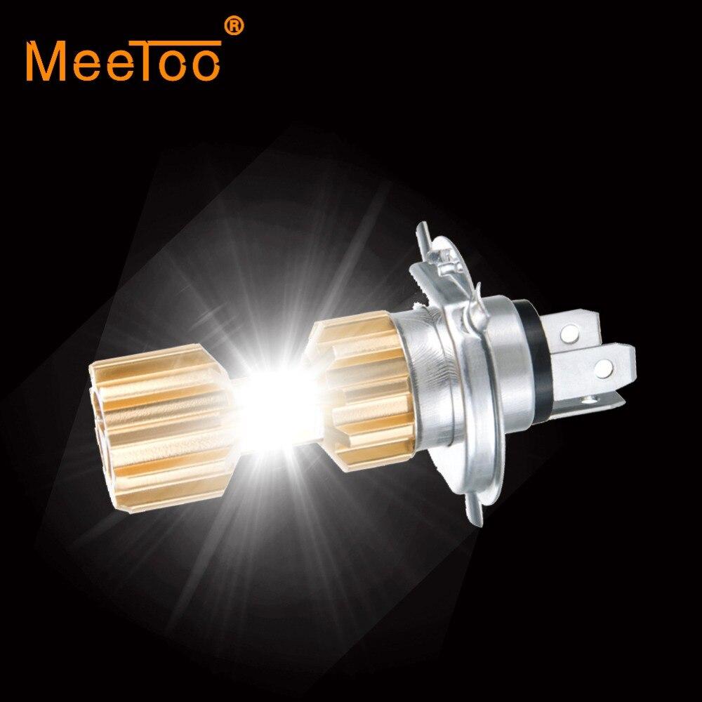 H4 светодиодная фара для мотоцикла 12В HS1 Led H4 светодиодные лампы для мотоцикла 3400lm супер яркая белая фара для мотоцикла аксессуары для скутера Moto