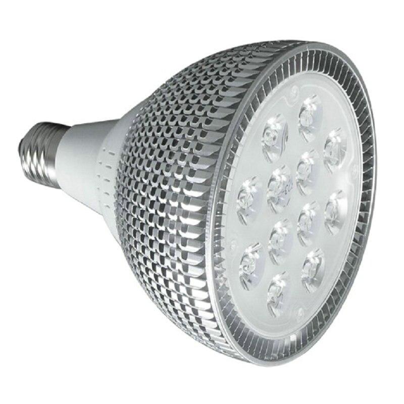 E27 E26 PAR20 PAR30 PAR38 LED bulbs light 10W 15W 18W 24W 30W Dimmable 110V 220V warm/pure/cool white LED spotights