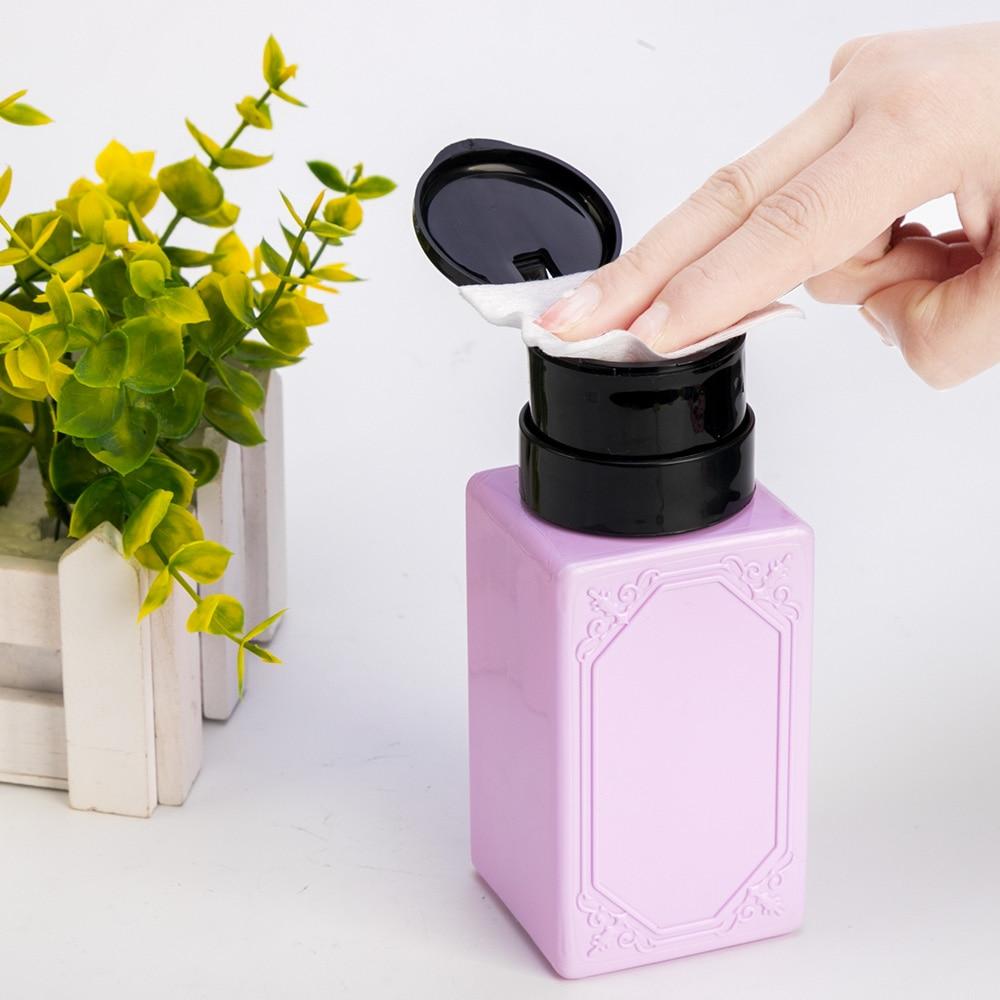 Пустая бутылочка для удаления лака для ногтей, 210 мл, 200 мл, жидкий УФ-Гель-лак для дизайна ногтей, бутылочка с ацетоном