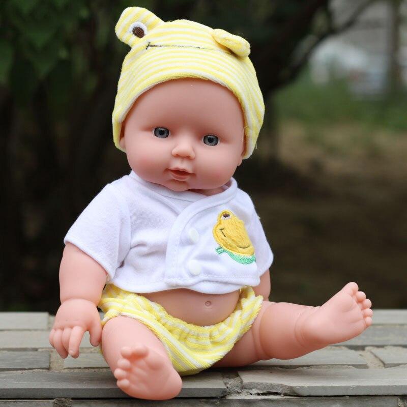 Кукла-имитация для новорожденных, мягкая виниловая, подарок на день рождения, 30 см