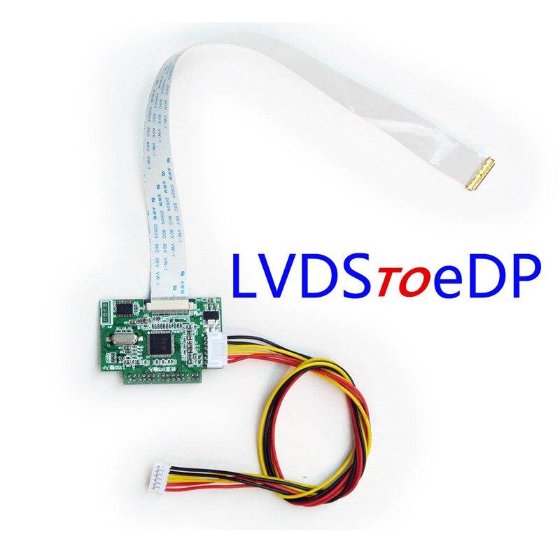 Placa de accionamiento universal LVDS a eDP, placa de transferencia eDP, placa de transferencia de señal LCD eDP.
