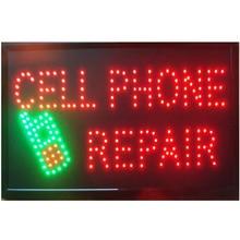 Réparation de téléphones portables led   Panneau personnalisé, 10*19 pouces, semi-extérieur, signalisation Ultra lumineuse, publicité en cours dexécution, nouveaux arrivages