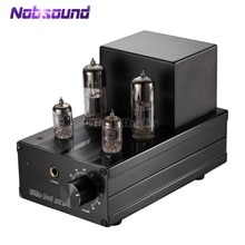 Nobsound küçük nokta MK II MK2 6J1 + 6N6 monte tüp amplifikatör/tüp ön amplifikatör yükseltilmiş hibrid kulaklık Amp