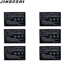 6 sztuk/partia 1200 mAh NP-60 NP 60 NP60 akumulator litowo do FUJIFILM FUJI FinePix M603 F601 F410 F401 50i zoom