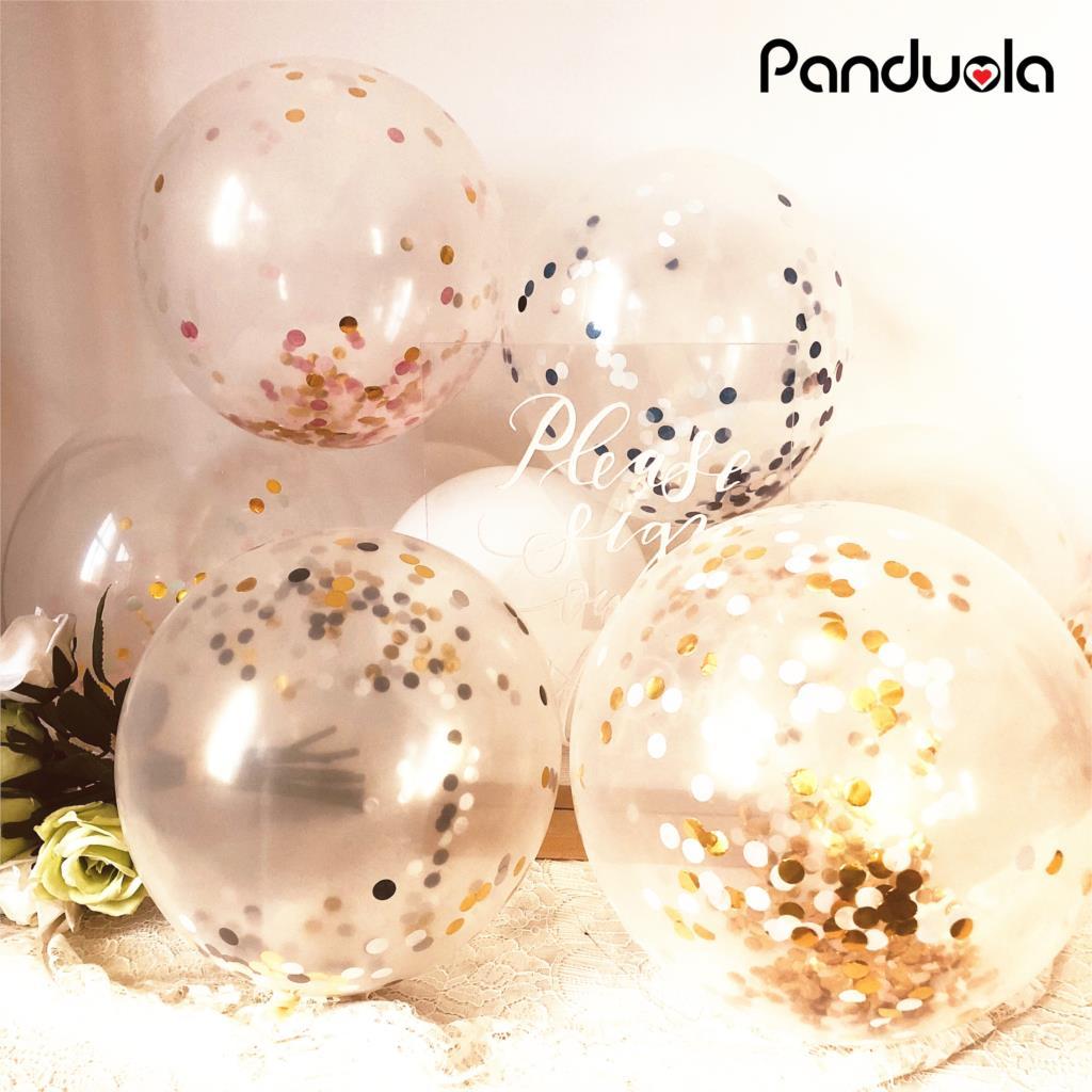 Globo confeti globos de feliz cumpleaños globos de helio de boda para Fiesta infantil género revelar bola bomba helyum balon balony