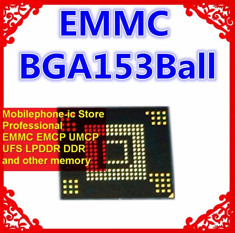 KLMCG8GEAC-B031 BGA153Ball EMMC5.0 5,0 64GB memoria de teléfono móvil nuevas bolas soldadas originales y de segunda mano probadas OK