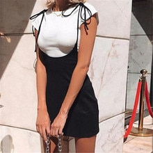 2019 mode Frauen Damen Mini vestito aderente Bodycon Kleid Verband Bodycon Ärmellose Abend Party Club Short Mini Kleid