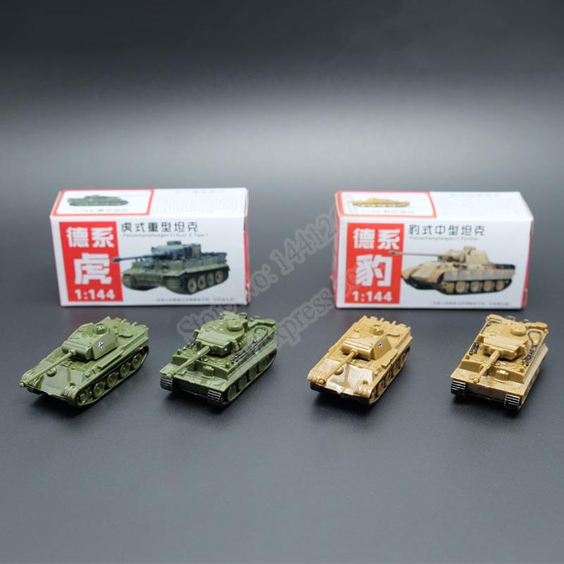 4 шт./компл. 4D песочный стол пластиковые танки тигра во время Второй мировой войны Германия пантера танк 1 144 масштаб Готовая модель игрушки