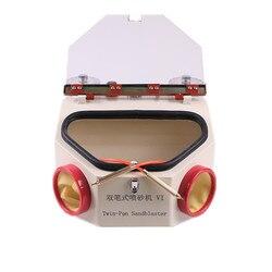 Стоматологическая двойная ручка струйная установка стоматологическая лаборатория двойная ручка металлическая пескоструйная машина электрическая пескоструйная машина пескоструйные ручки
